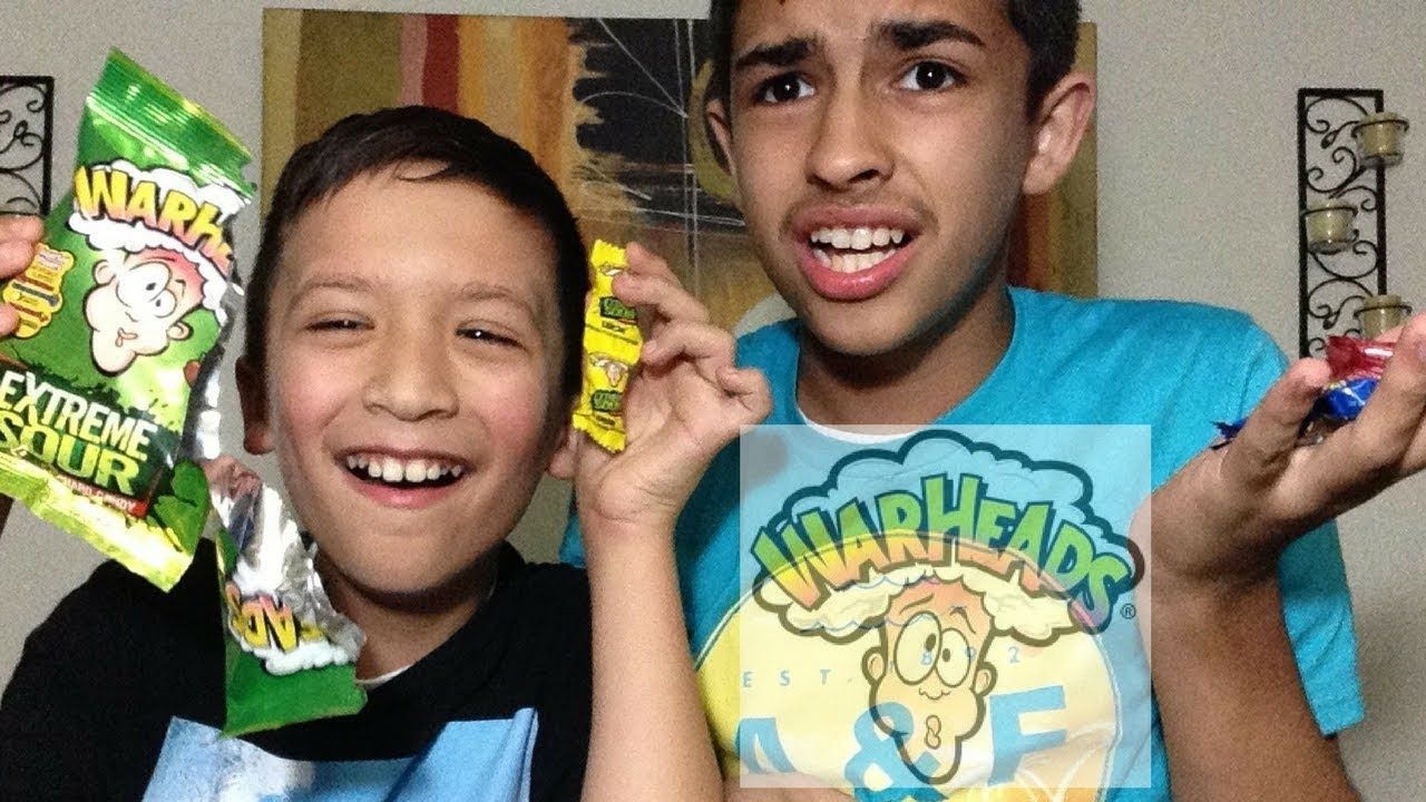 Super Sour Warheads Challenge Derek And Dominic Youtube Challenges Throwing Up Youtube
