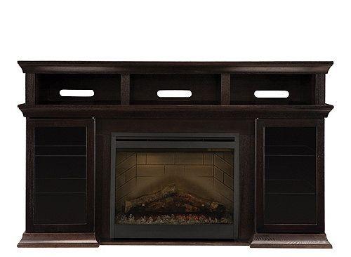 Bennett 66 Tv Console W 26 Fireplace Tv Stands Consoles