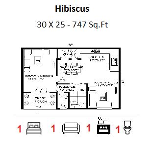 House Plan For 30 Feet By 25 Feet Plot Plot Size 83 Square Yards Prathamesh How To Plan House Plans Floor Plans