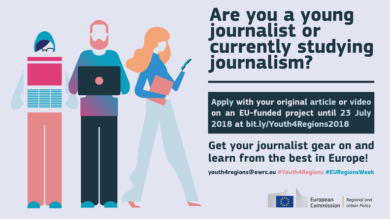 Junior journalists and journalism students apply for