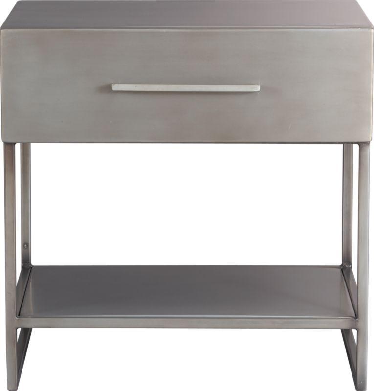 Best Proof Nightstand Cb2 149 Metal Nightstand Furniture 640 x 480
