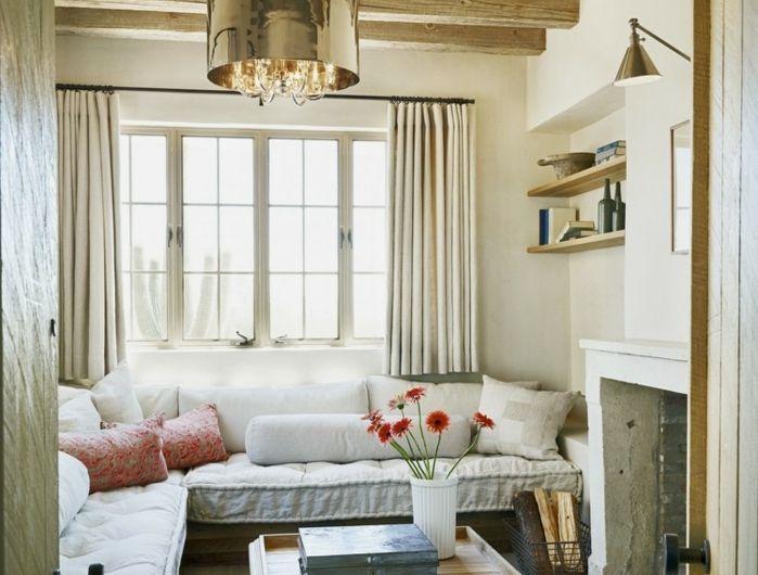 ▷ 1001 + conseils et idées pour aménager un salon rustique