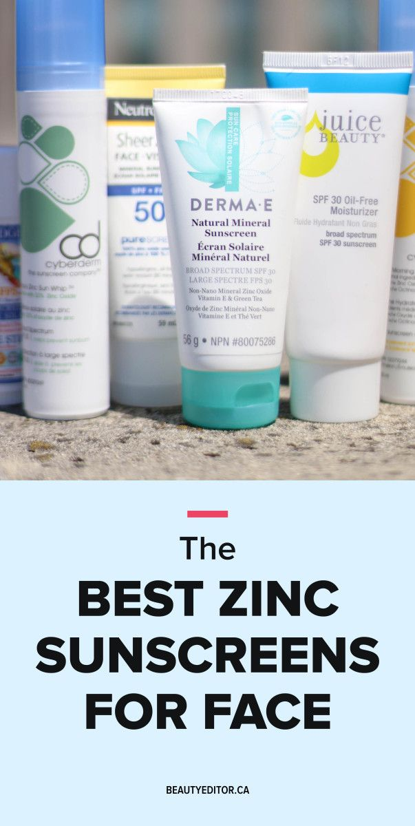 Editor S Picks 18 Of The Best Zinc Oxide Sunscreens For