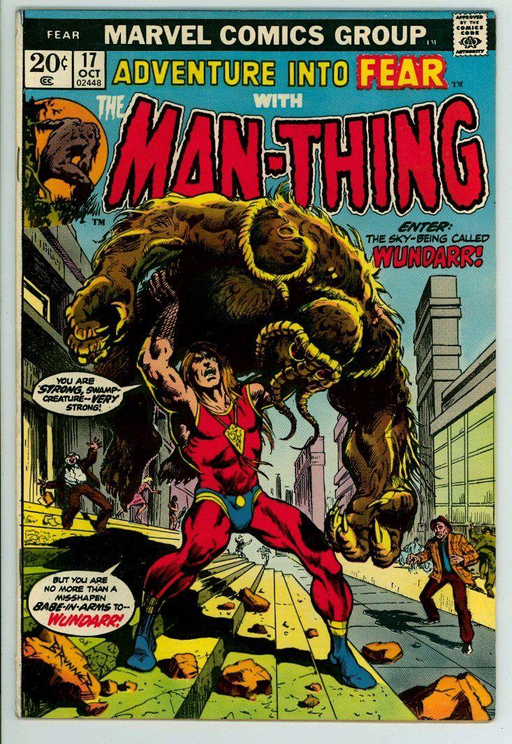 Adventure into fear 17 fn 65 silver age comics