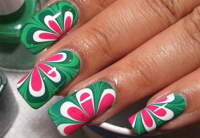 Awesome Water Nail Art Designs 2016 | Nail Designs | Pinterest ...
