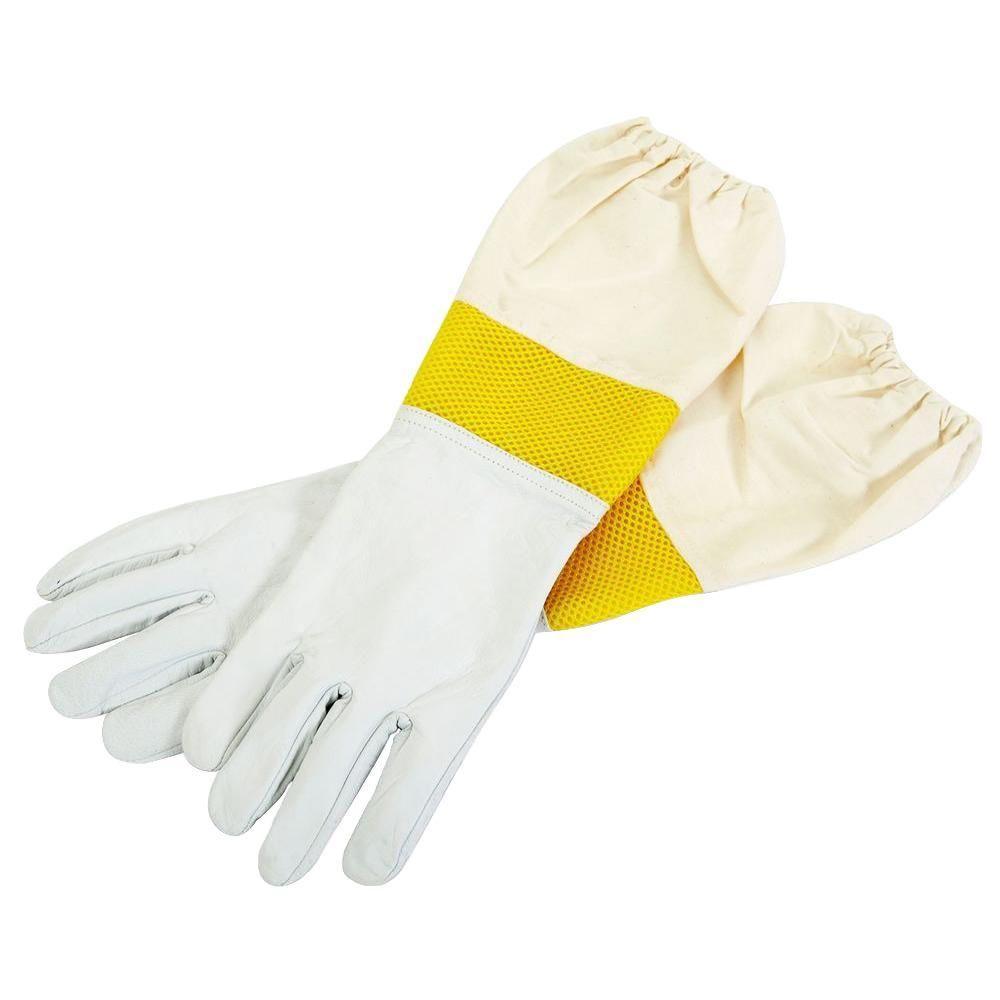 Vented Beekeeping Gloves Made Of Goatskin MEDIUM