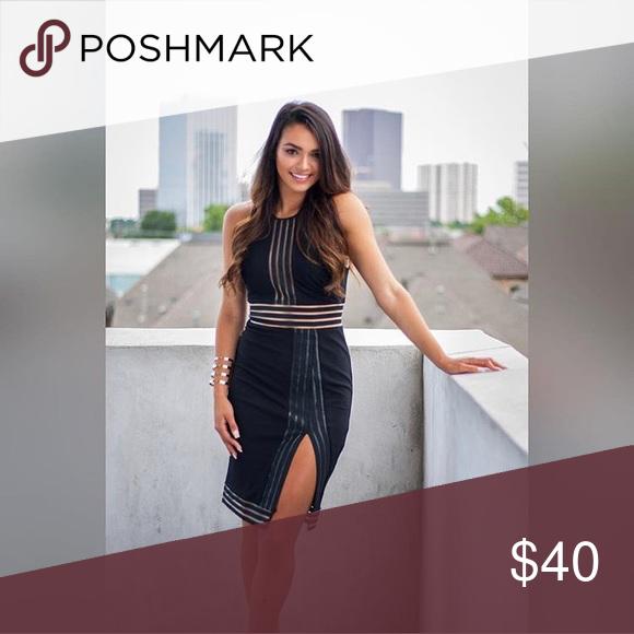 Sleek little black dress 🖤 Dress to impress in this little black dress. Sizes Small/Medium/Large Dresses Midi