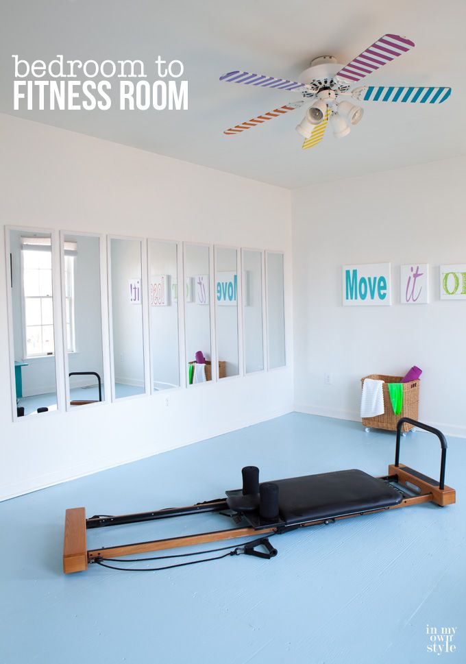 15 Home Gyms Worth Sweating In | Fitness rooms, Gym and Bedrooms