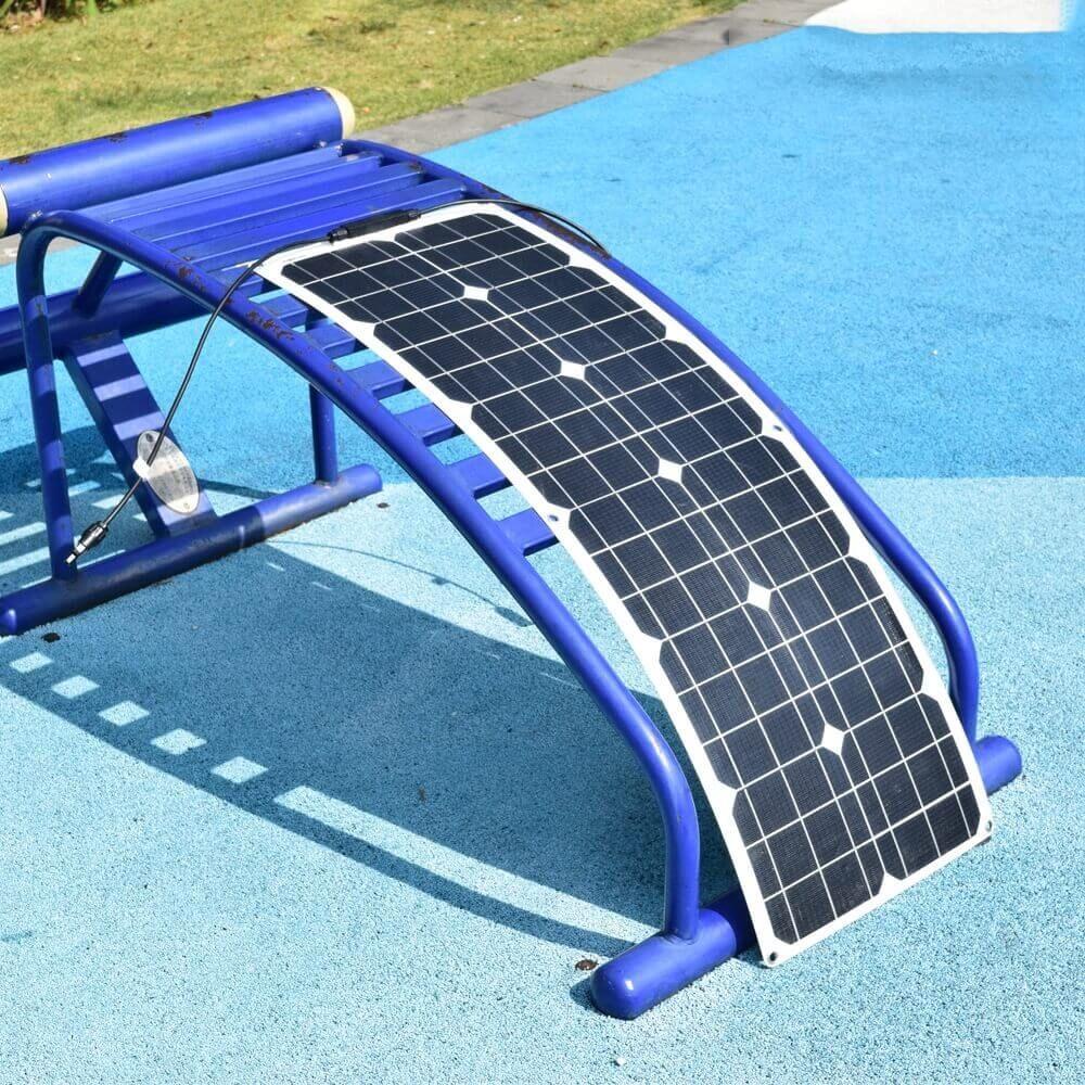 50w flexible solar panel for RV yacht motorhome