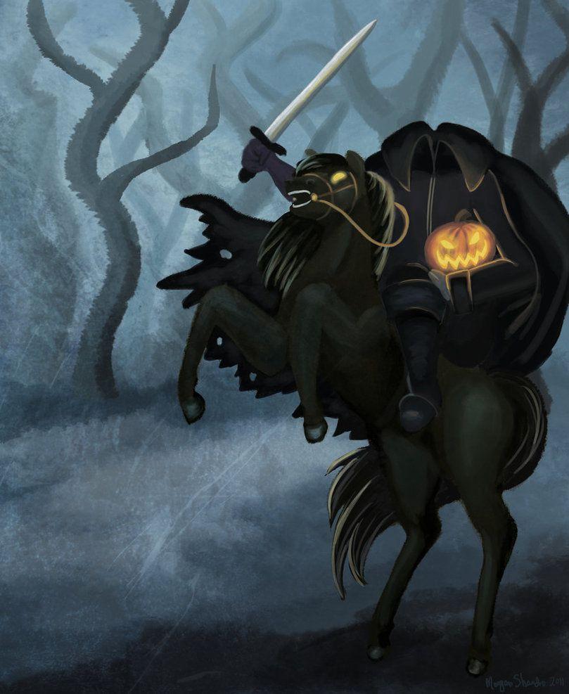 Headless Horseman. Halloween