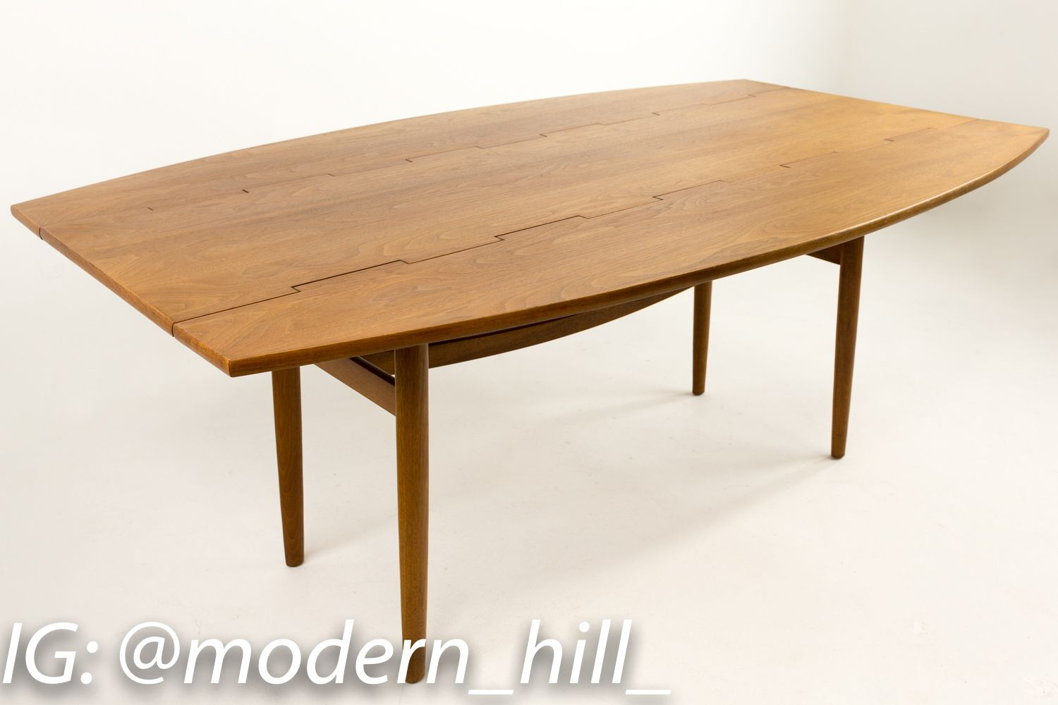 Barney Flagg Drop Leaf Dining Table Midcentury Modern