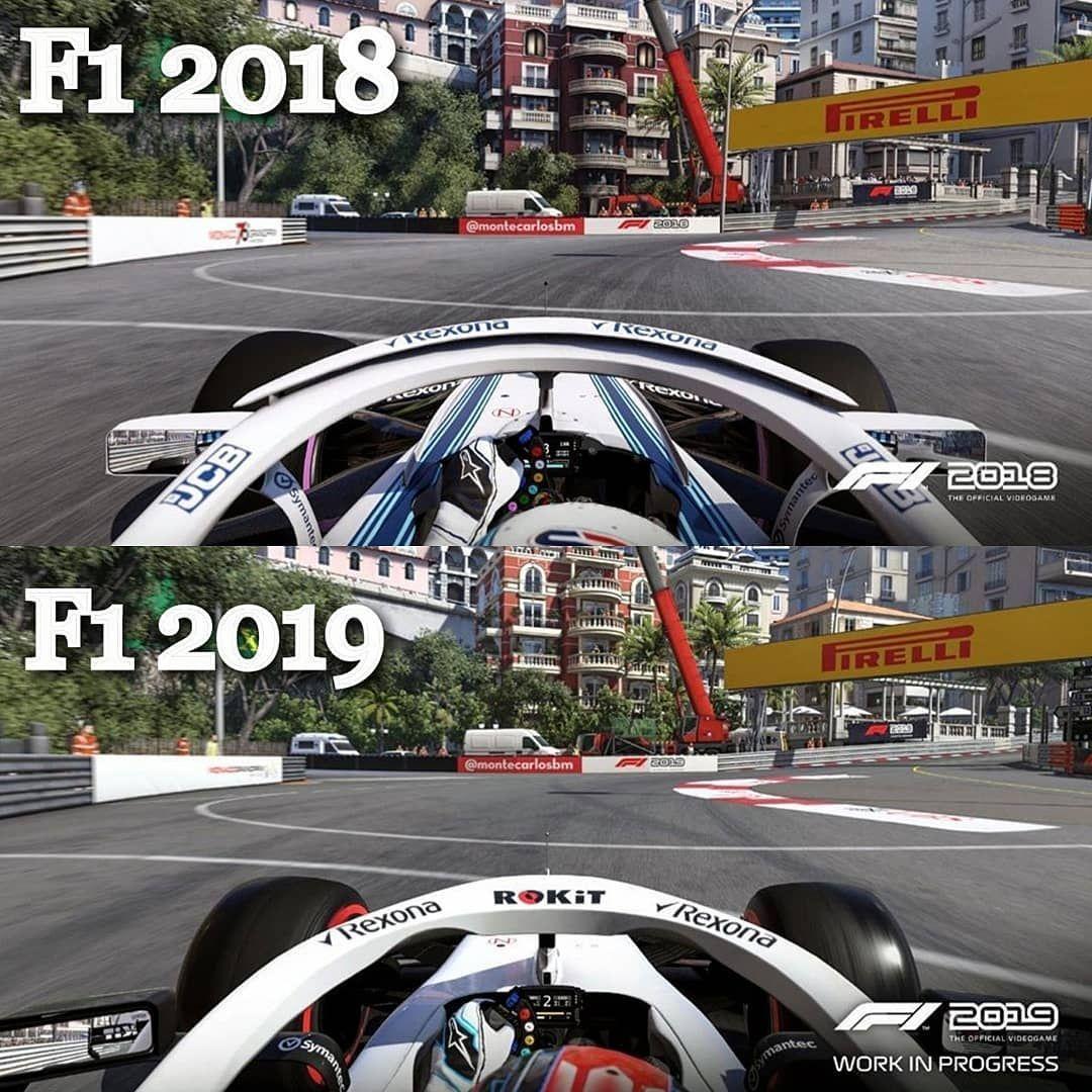 F1 2018 Vs F1 2019 Game