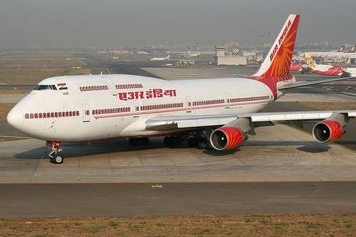 Cheap Air India Flights. Air India on-time rate of 62% ranks them 10% in the world. It is always good to keep up-to-date. So, make sure to sign up for Air India delay notifications, and you'll be able to plan ahead more easily. Air India flights are delayed 61% of the time. When there is a delay, it averages about 31 minutes.
