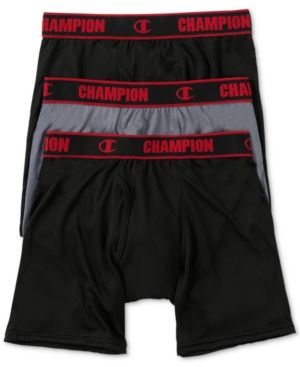 Champion Men/'s Performance Boxer Brief