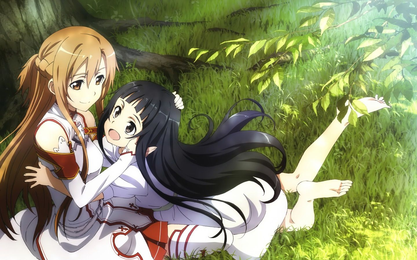 Asuna And Yui Sweet Mother Daughter Moment