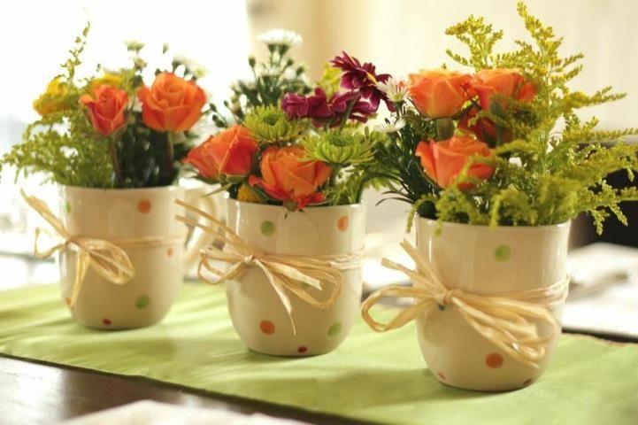 long low table flower arrangements - Google Search