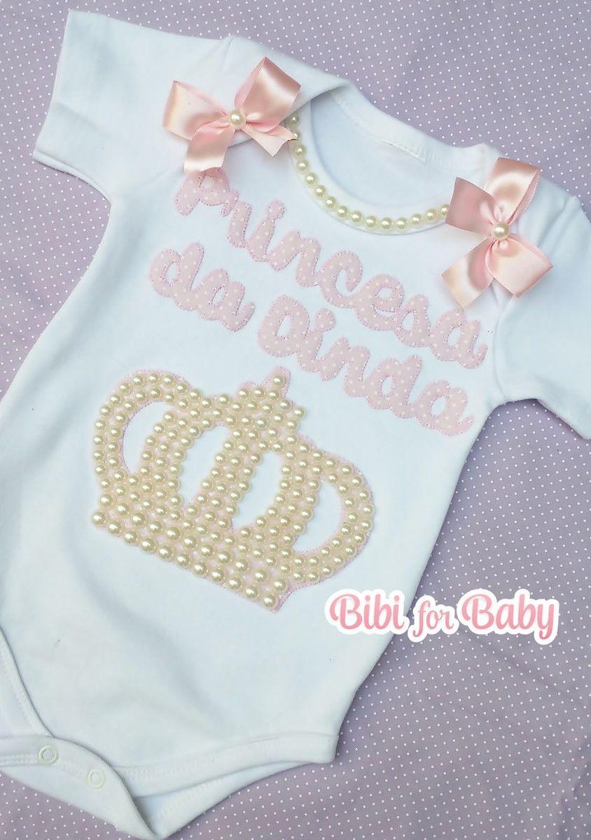 Body Infantil Princesa Da Dinda Tutu Infantil Roupas Personalizadas Looks Infantis