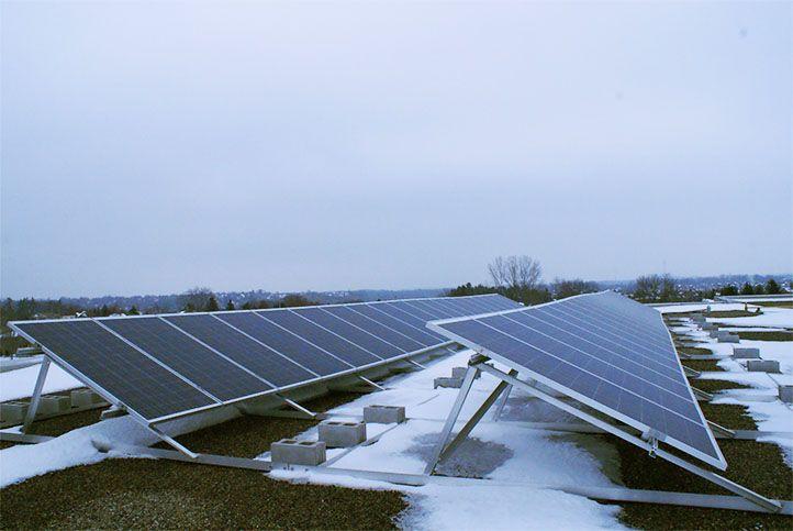 Kortright Hills Public School Gs10 Custom Solar Power System Solar Power System Solar Roof Solar Panel