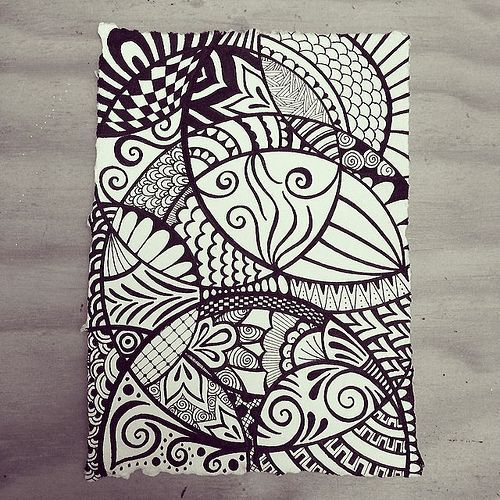 your mind to the music Moving in circles - Indian Rag paper zen doodle using micron fineliners. by Wealie, via FlickrMoving in circles - Indian Rag paper zen doodle using micron fineliners. by Wealie, via Flickr