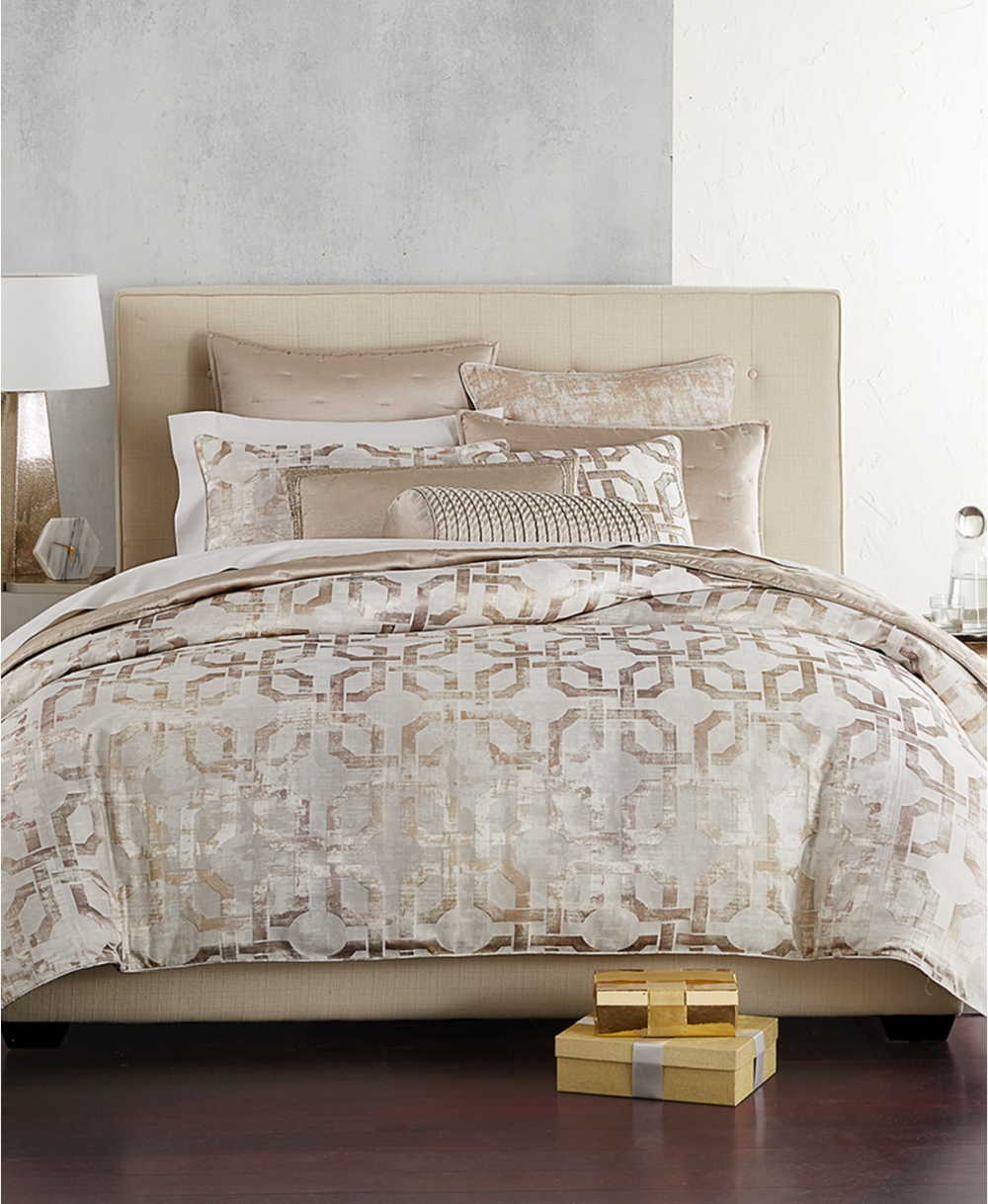 Hotel Collection Fresco Full/Queen Duvet Cover, Created