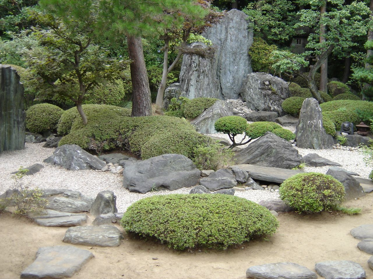 1280 960 pagodas temples pinterest for Zen garden waterfall