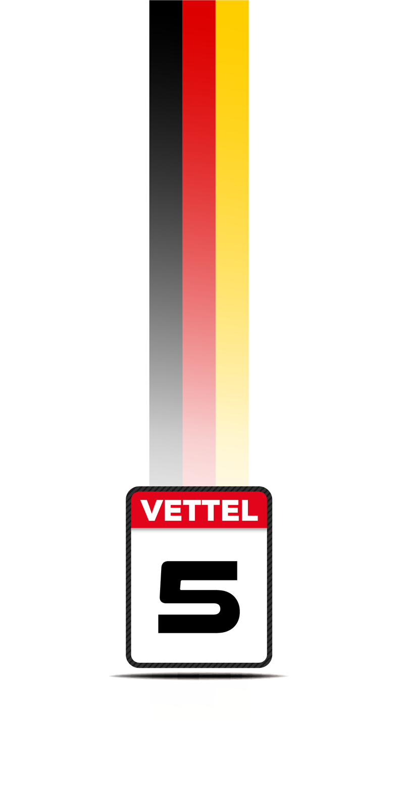 Camiseta Ferrari Sebastian Vettel