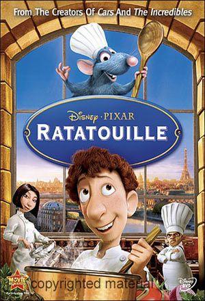 Ratatouille - Brad Bird (2007).