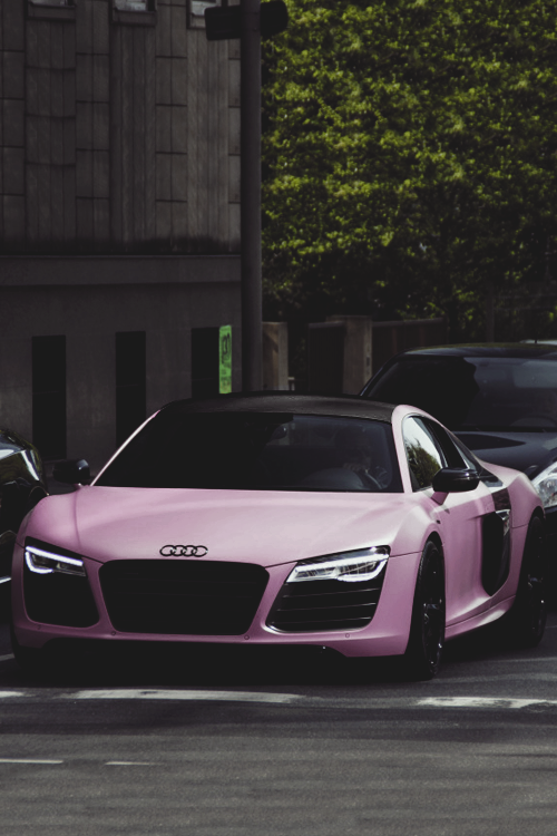 Classyhustler For My Lady Followers Audi R8 V10 Plus Matte Pink