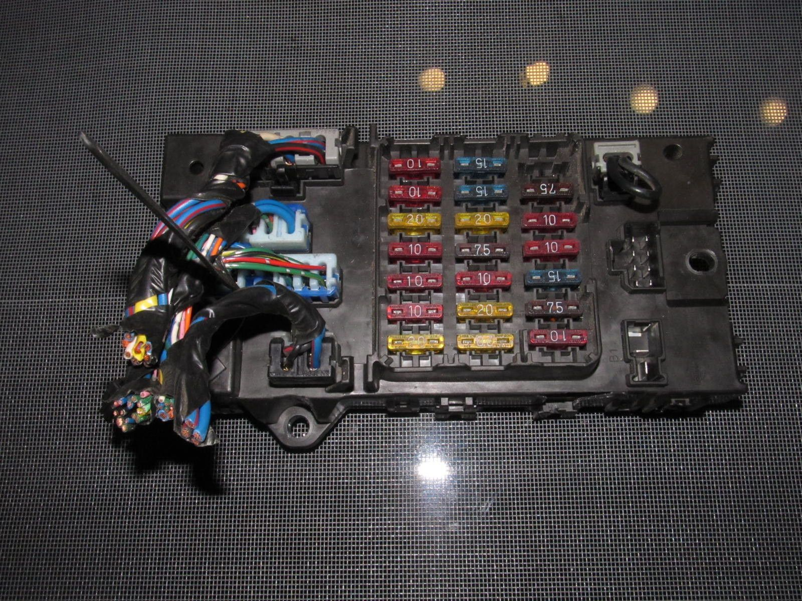 hight resolution of 90 96 nissan 300zx oem interior fuse box