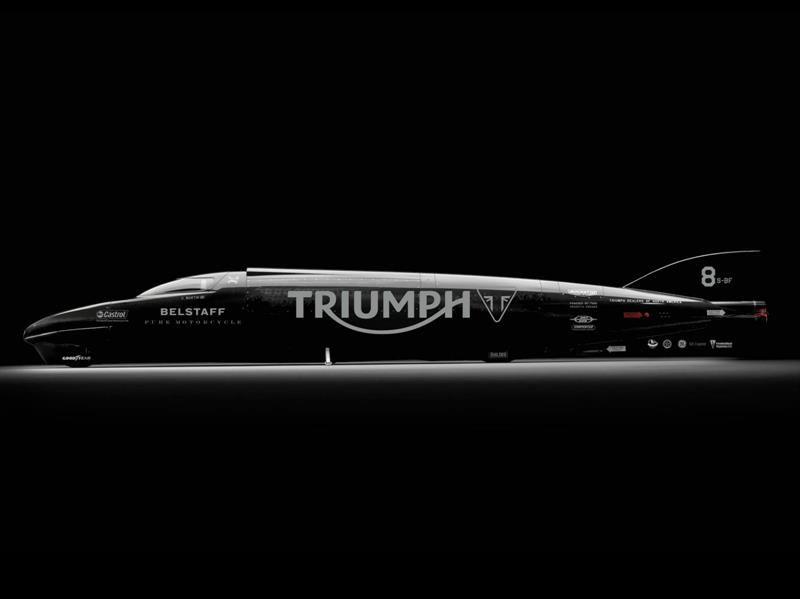 Triumph busca el récord de velocidad sobre dos ruedas