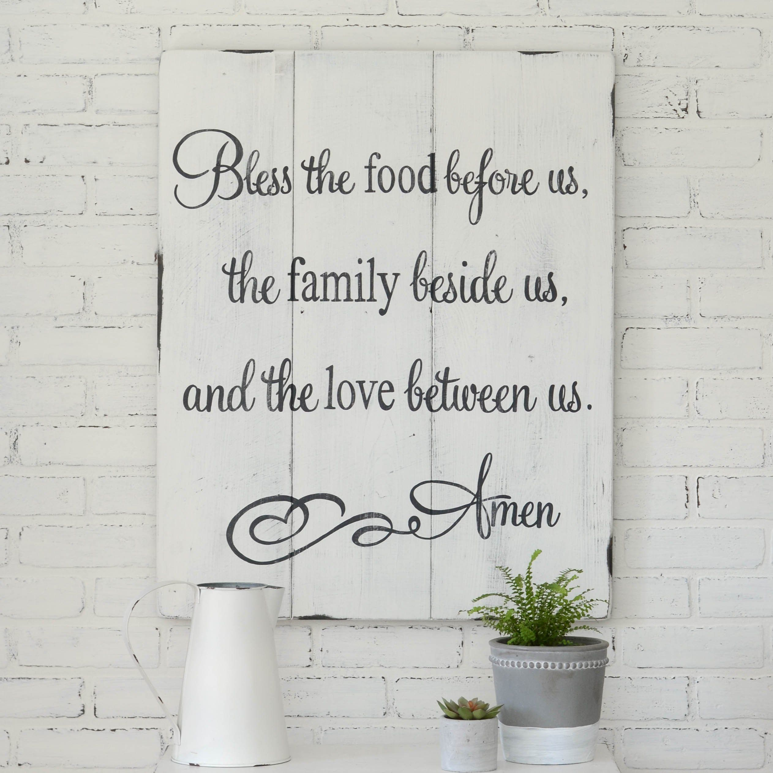 Blessing sign kitchen signs kitchens and barn wood
