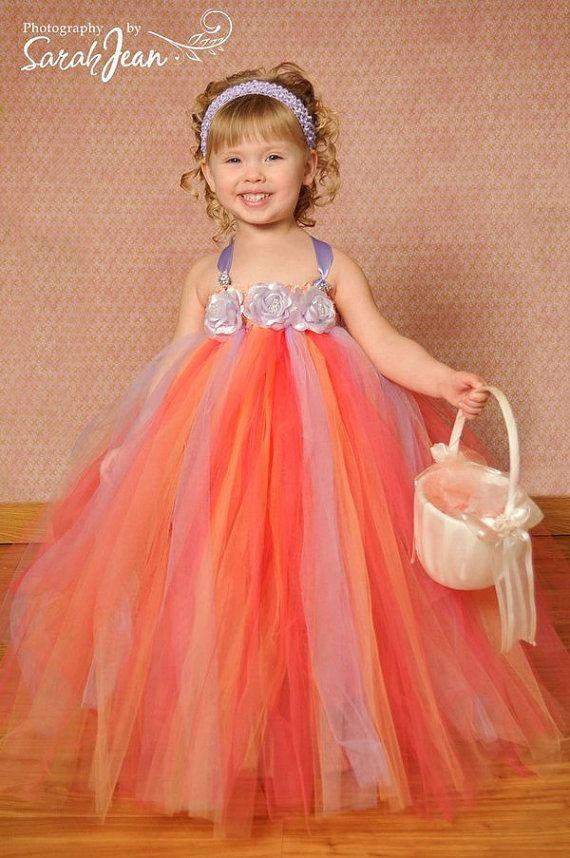 Flower Girl Dress Girl Tutu Tutu Dress Newborn by houseoftutus, $43.00