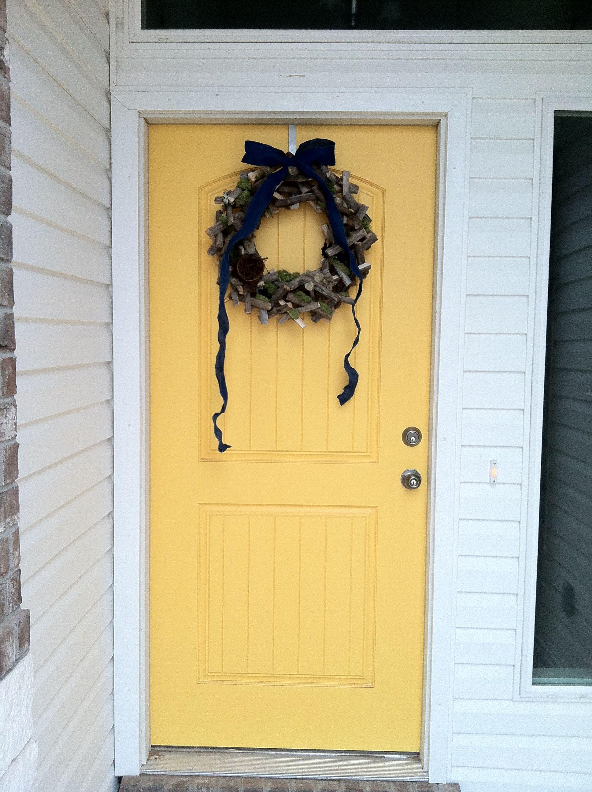 Sunflower Yellow Front Door Yellow Front Doors Front Door