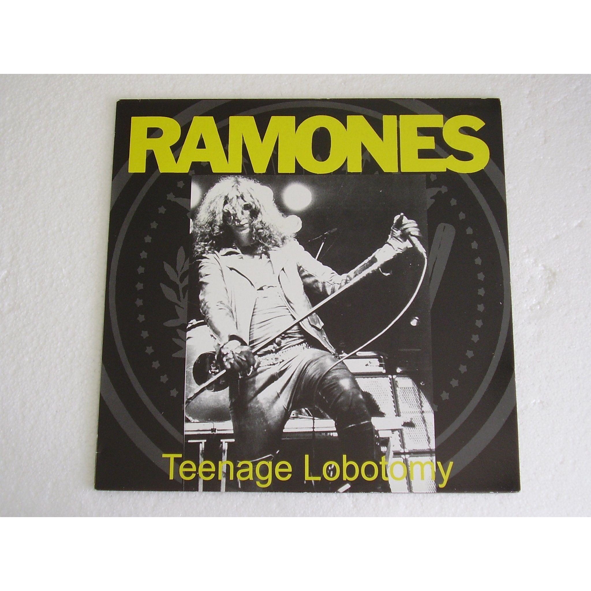 Ramones – Teenage Lobotomy (single cover art)