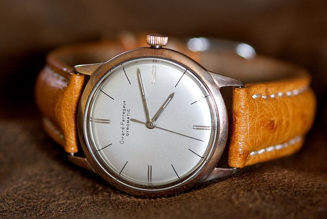 Girard Perregaux ~ you don't have to own this one... just buy one that is similar to this style. Keep the 'clunky' ones for casual wear.