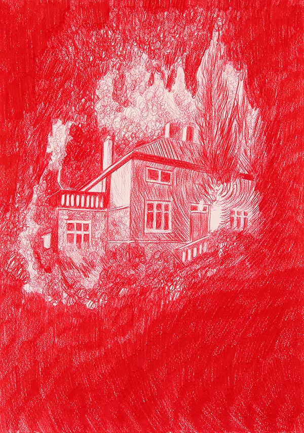 Red House Drawing: Morten Schelde: Red House, 2013
