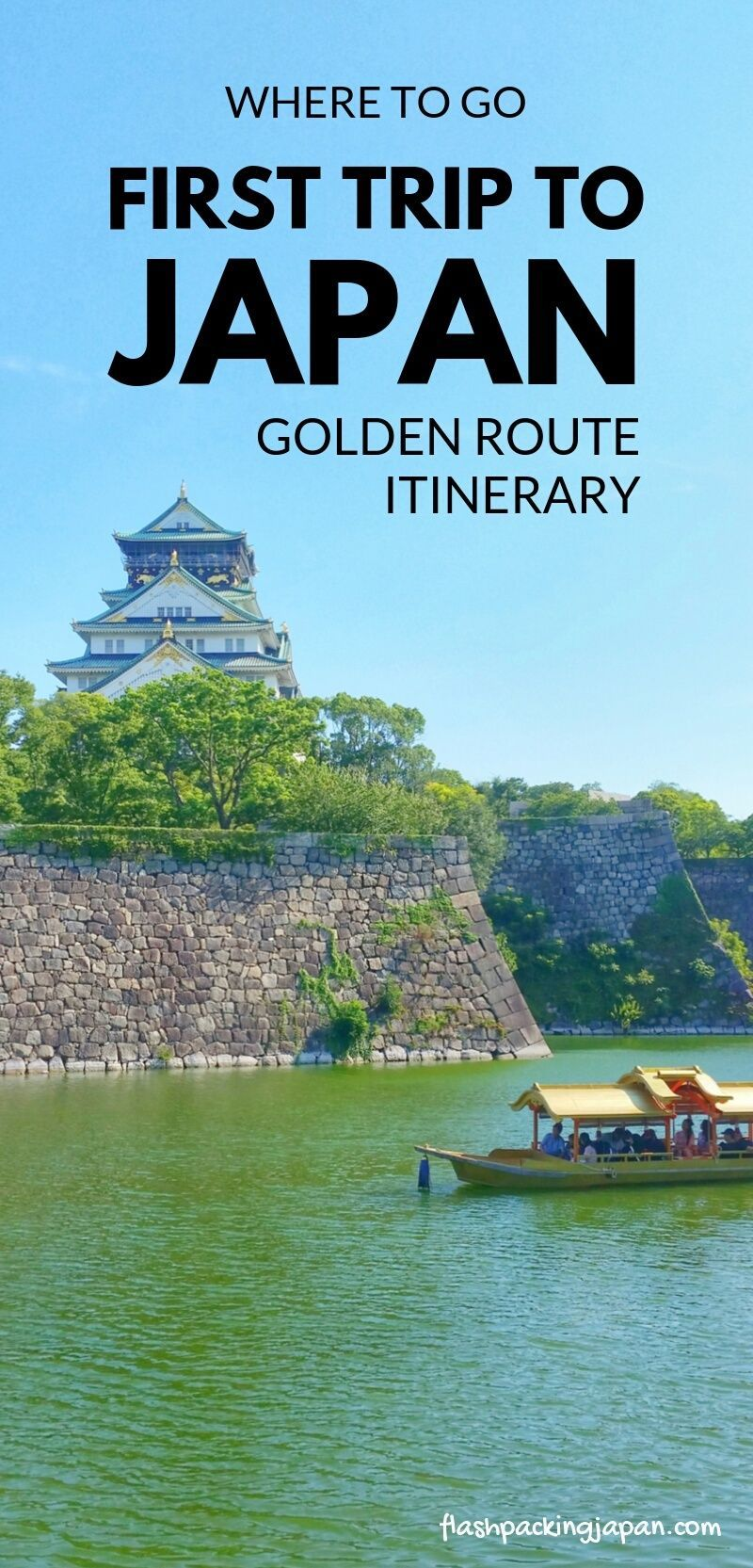 Japan Golden Route itinerary for first trip to Japan for beginners 🗾 Backpacking Japan