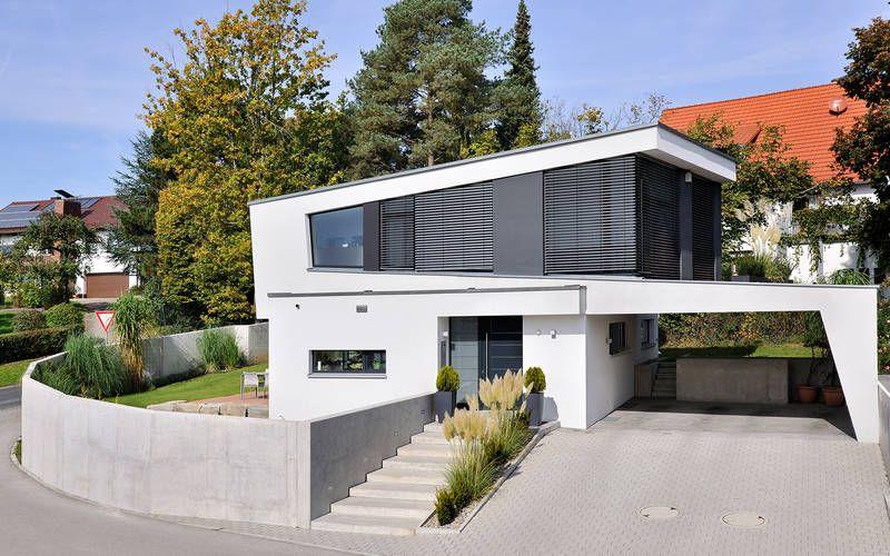 1011 einfamilienhaus neubau architekten pinterest einfamilienhaus haus. Black Bedroom Furniture Sets. Home Design Ideas