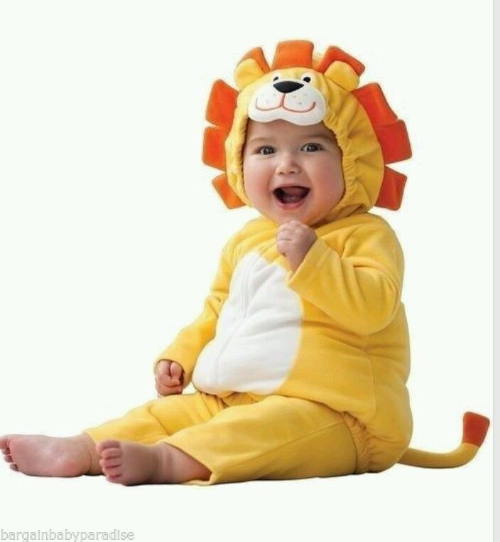CARTERu0027S Lion Infant Boys/Girls 2-Piece Yellow Halloween Baby Costume NEW 6-9 M #Carters #CompleteCostume  sc 1 st  Pinterest & CARTERu0027S Lion Infant King 2-PC Puffy Yellow Halloween Baby Costume ...