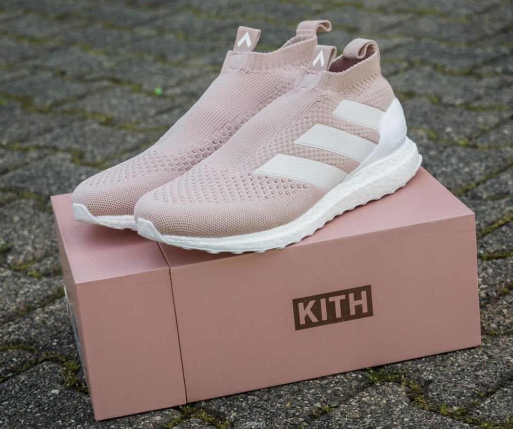3052773d2fb87d NEW KITH X ADIDAS Mens ACE 16+ PURECONTROL ULTRABOOST FLAMINGO PINK SIZE 11   adidas  AthleticSneakers
