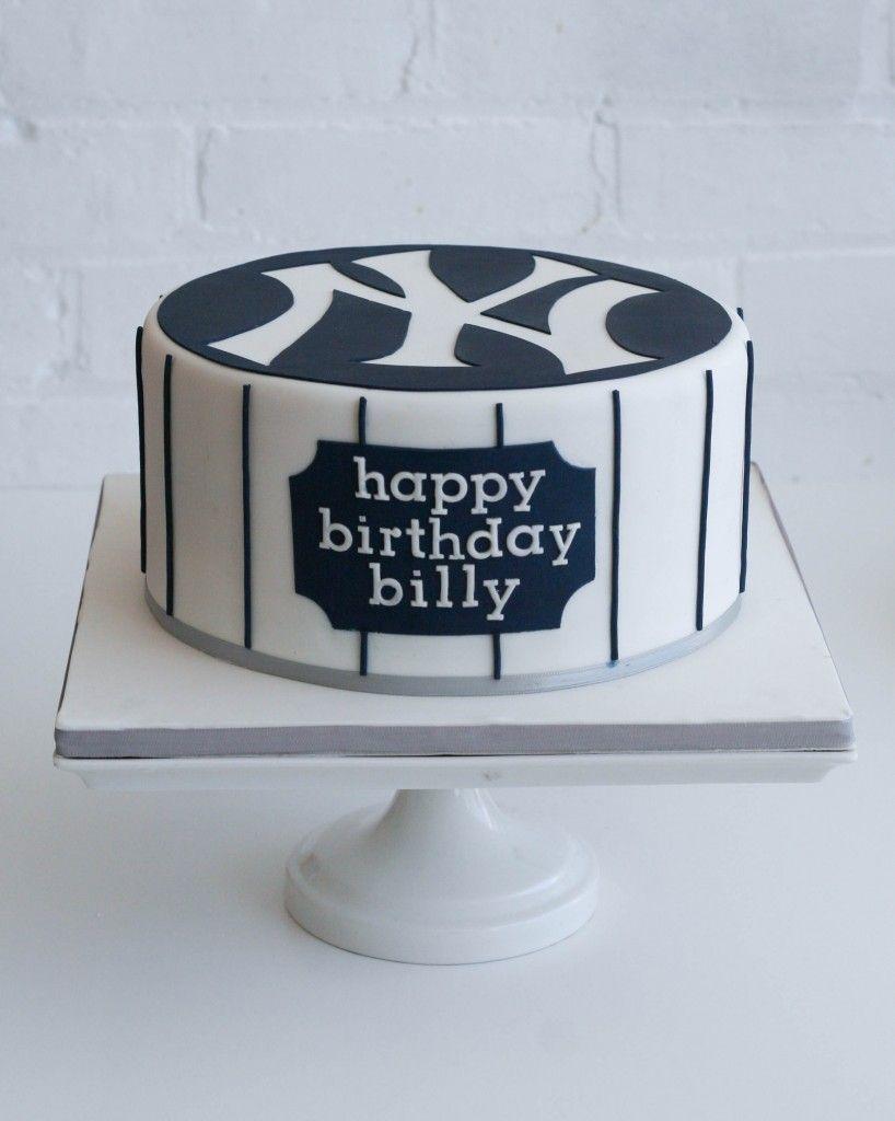 New York Yankees Cake By Erica Obrien Cake Design Ct