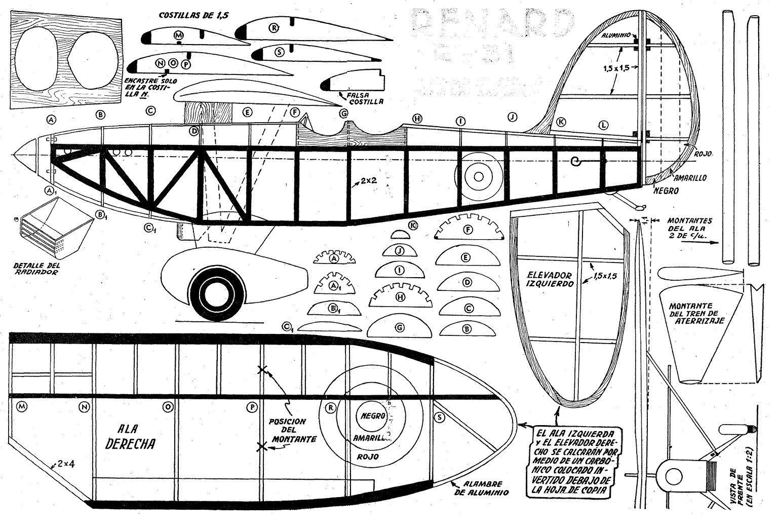 Aeromodelismo Planos