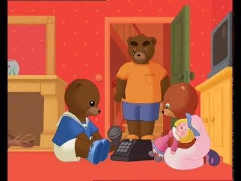 Petit ours brun petit ours brun veut t l phoner youtube ecole film animation petit ours - Petit ours dessin anime ...