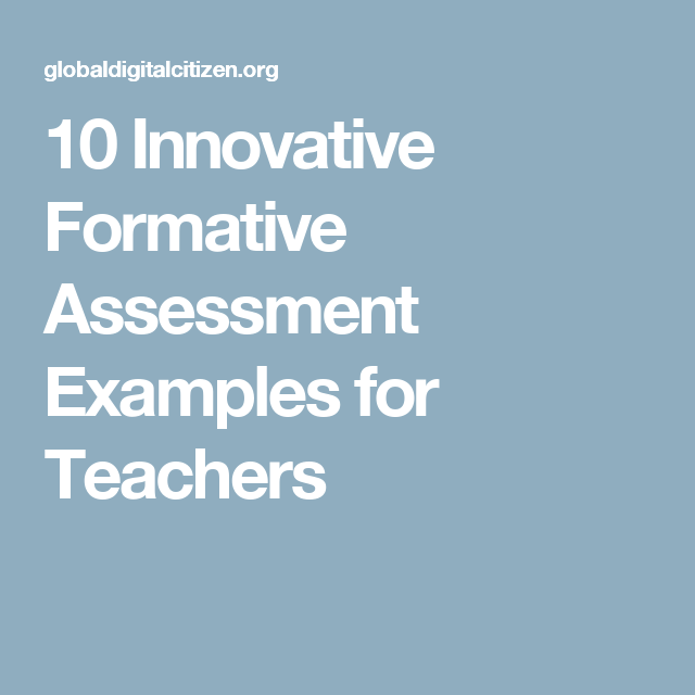 Innovative Formative Assessment Examples For Teachers  Future