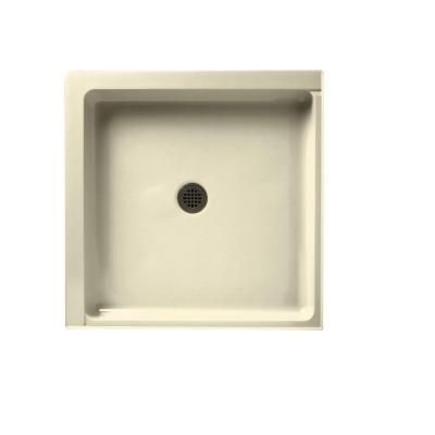 Swan 36 In X 36 In Solid Surface Double Threshold Shower Pan In