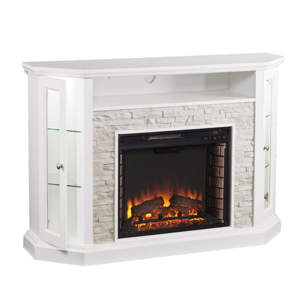 shop boston loft furnishings reamrock electric fireplace. Black Bedroom Furniture Sets. Home Design Ideas