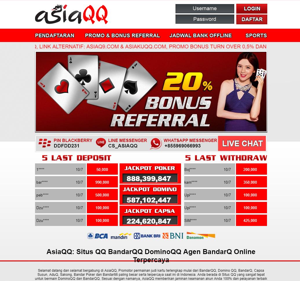 60 Ide 60 Situs Poker Online Terpercaya 2019 Poker Permainan Kartu Kartu