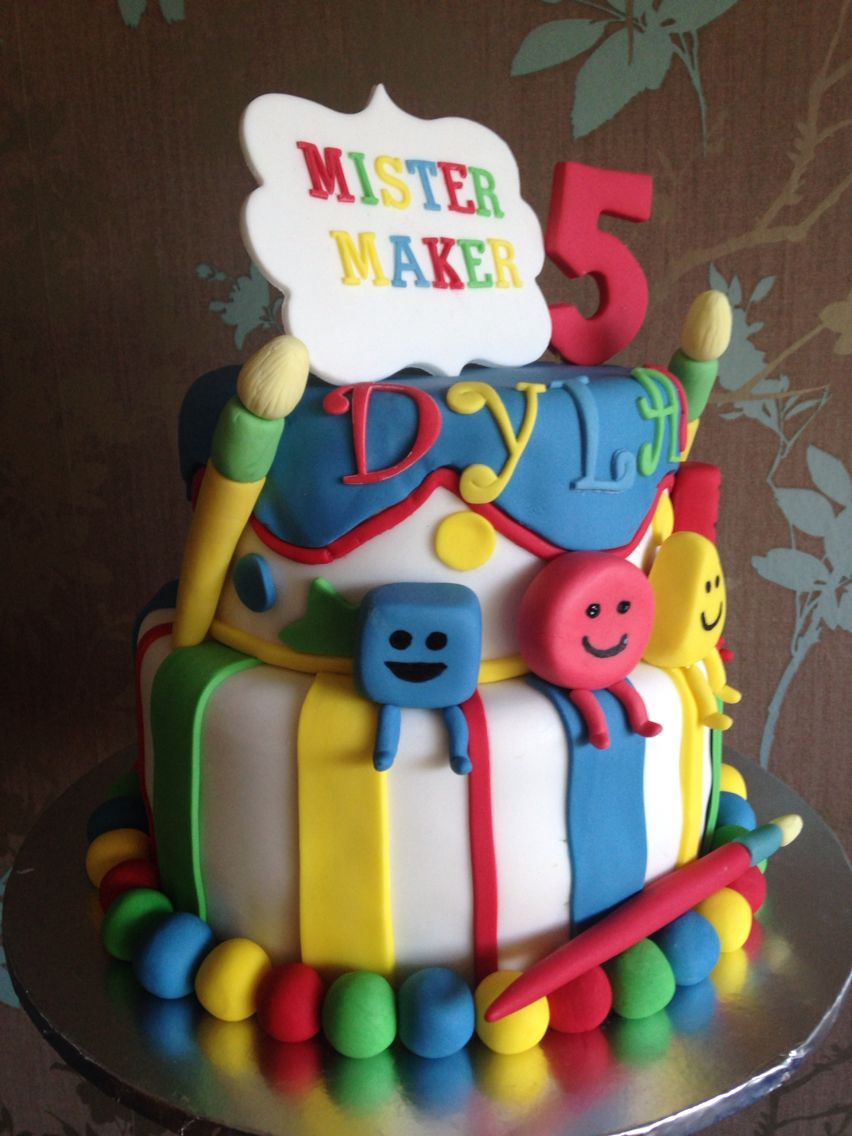 Mister Maker Cake Decorating Tutorials Pinterest Birthday
