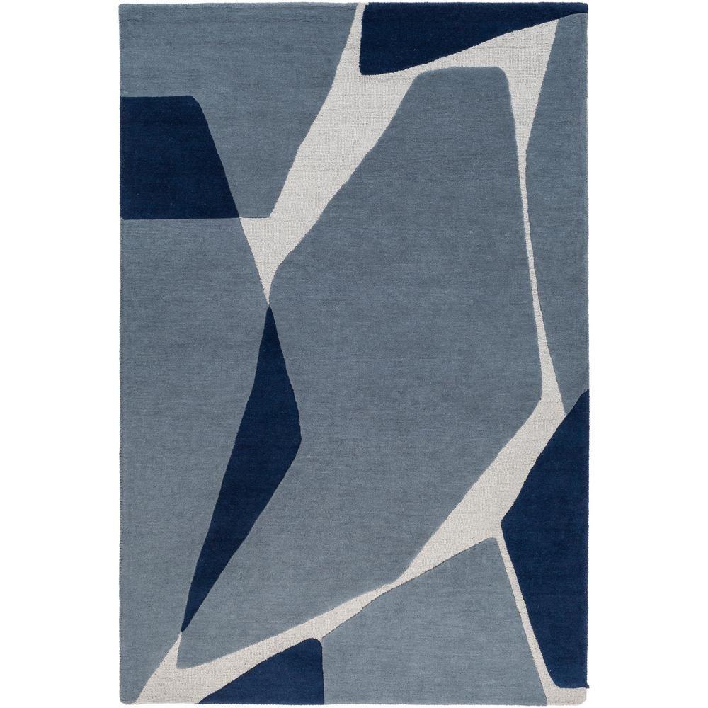 Artistic Weavers Adalyn Dark Blue 4 Ft X 6 Ft Area Rug