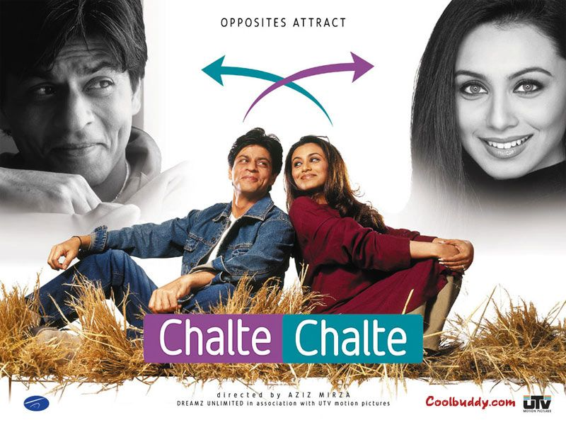 Chalte Chalte Hindi Movie Online Shahrukh Khan, Rani